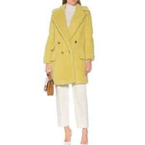 MaxMara Adenia Teddy coat size 2 BNWT